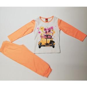 Σετ Φόρμα Παιδική Μακώ Πορτοκαλί 077.133.064