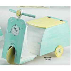 Ξύλινο κουτί  βέσπα (Κ529-ΜΝ)