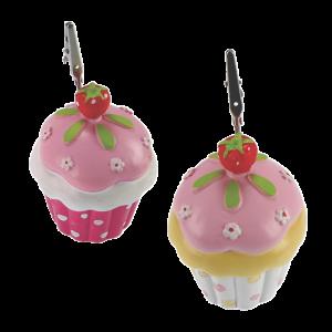 Μπομπονιέρα Βάπτισης Cupcake Κλιπ (σετ των 2)  22030-118 Andronidis Ζητήστε προσφορά !!!!