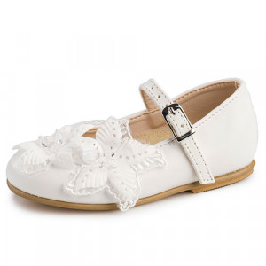 Παπουτσάκι Gorgino (Κωδ.2217-3) Λευκό (+1€ στο Πακέτο Βάπτισης)