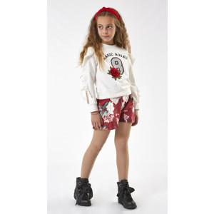Μπλούζα + Σορτς Εμπριμέ Παιδικό (#291.033.017+1#)