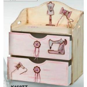 Κουτί ξύλινο σιφινιέρα (Κωδ.Κ114-1)