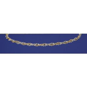 Στέφανα μεταλλικά ασημί με χρυσο Κωδ.301Ν