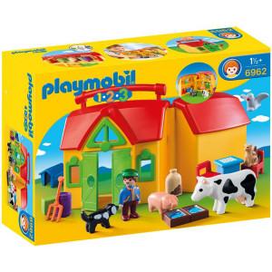 Playmobil, Φάρμα Βαλιτσάκι, 6962, παιδικό παιχνίδι, narlis.gr