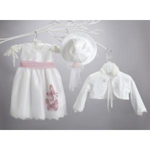 Ρούχο σετ βάπτισης κορίτσι New Life narli.gr