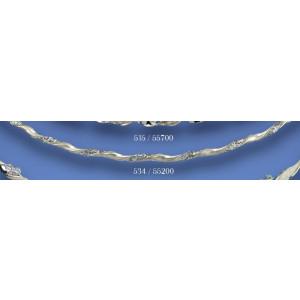 Στέφανα ασημένια βέργα 534(55200)