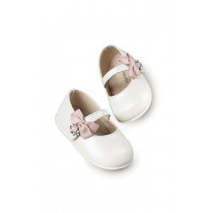 Παπούτσια Βάπτισης κορίτσι Babywalker Pri 2564 narlis.gr