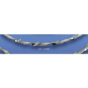 Στέφανα ασημένια με swarovski 541(55000)