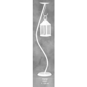 Λαμπάδα Κηροπήγιο Λυχνάρι (Κωδ.43031) (Η τιμή αφορά 2 Τεμάχια)