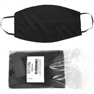 Μάσκα προστασίας υφασμάτινη βαμβακερή Μαύρη 4 tenn 4ty 27197, narlis.gr