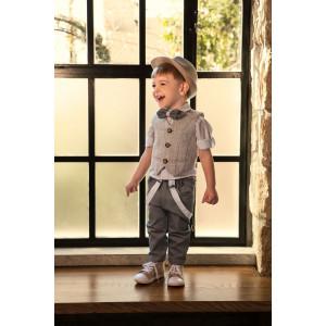 Ρούχο σετ βάπτισης αγόρι Dolce Bambini  narlis.gr
