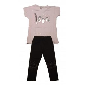 Μπλουζοφόρεμα & Κολάν Παιδικό (#291.060.031+3#)