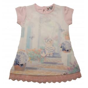 Φόρεμα Κ/Μ Βρεφικό (Ροζ) (#291.130.298+3#)