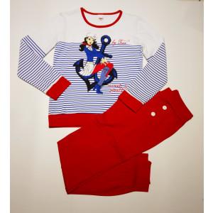 Φόρμα Παιδική Μακώ Κορίτσι Κόκκινο 077.133.076