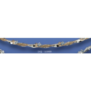 Στέφανα ασημένια με swarovski 542 (55000)