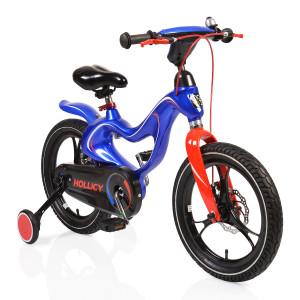 """Moni Παιδικό ποδηλατάκι 16"""" με Δισκόφρενα Magnesium blue byox (#737.353.016#)"""