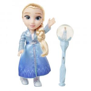 Frozen II - Κούκλα Έλσα & Μουσικό Ραβδί (FRNA3000)