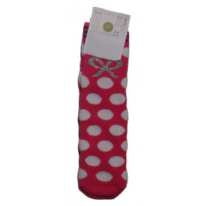 Αντιολισθητικές Μπουρνουζέ Κάλτσες (Ροζ) (#304.064.003+3#)