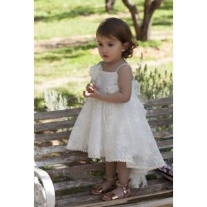 Ολοκληρωμένο πακέτο σετ βάπτισης κορίτσι Dolce Bambini 307-1 narlis.gr