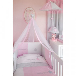 Σετ Σεντόνια 3τμχ Lucky Star 308 Pink