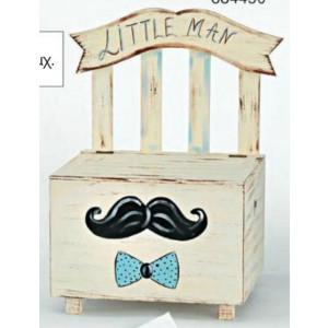 Ξύλινο παγκάκι μικρός κύριος (Κωδ.Κ811-1)