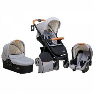 Trio Malibu Version1 Bebestars 310-186 (Grey Melange) Ζητήστε προσφορά (186.97.054)00259