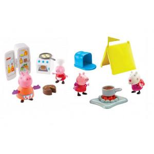 Peppa Pig Kουζίνα/Κάμπινγκ (2 Σχέδια) (PPC40000)
