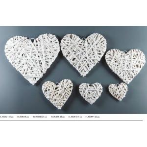 Καρδιές ψάθινες 35cm Rodia 31.50.012 (8.50)