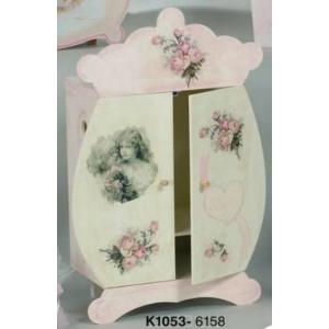 Κουτί ξύλινο ντουλάπα (Κωδ.Κ1053-1)