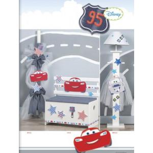 Disney Mc queen ΛαμπάδαΝΛ501(600)-Παγκάκι Ν504(840)