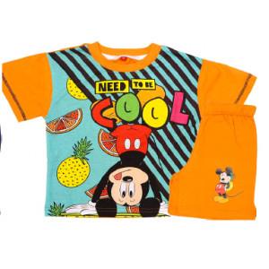 Σετ Παιδικό K/Μ Μακώ Mickey Disney (Πορτοκαλί) (Κωδ.200.43.019)