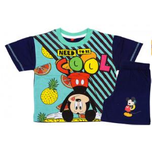 Σετ Παιδικό K/Μ Μακώ Mickey Disney (Μπλε) (Κωδ.200.43.019)