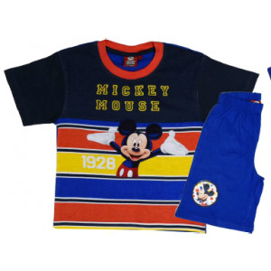 Σετ Παιδικό K/Μ Μακώ Mickey Disney (Μπλε) (Κωδ.200.43.018)