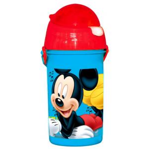 Πλαστικό Παγούρι Mickey Disney (Με καλαμάκι) (Κωδ.151.539.051)