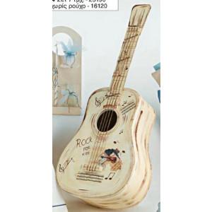 Κουτί ξύλινο κιθάρα (Κωδ.Κ704-1)