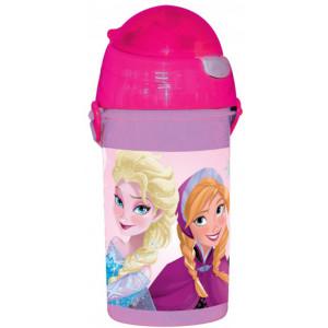 Πλαστικό Παγούρι Frozen Disney (Με καλαμάκι) (Κωδ.151.539.047)