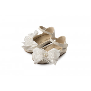 Παπουτσάκι Κορίτσι babywalker (BS3545) +2 Ivory