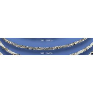 Στέφανα ασημένια με swarovski 588(55600)