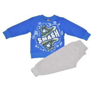 Σετ Μπλούζα Και Φόρμα Μακώ Μπλε Ρουά 077.332.017