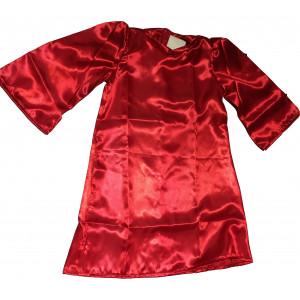 Χριστουγεννιάτικη Κελεμπία Σατέν Κόκκινη Κωδ. 367.01.018