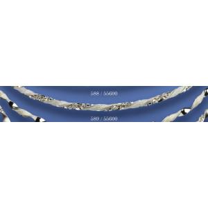 Στέφανα ασημένια με swarovski 589 (55600)