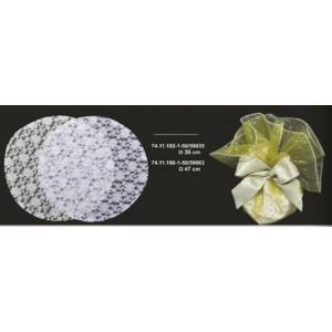 Δανδέλα κορδονέ tsirilas στρόγγυλη 74.11.182-1-37cm 50τμχ