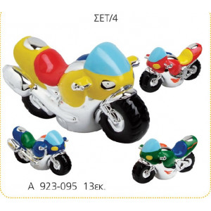 Κεραμική μοτοσικλέτα 13εκ(Κωδ:A923)