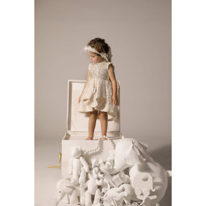 Ολοκληρωμένο πακέτο βάπτισηs με αυτό το φόρεμα Baby U Rock (FW18-19/500805) Mε το κουτί Ζητήστε προσφορά!!!!!