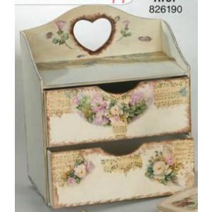 Κουτί ξύλινο σιφινιέρα (Κωδ.ΛΤ57-1)