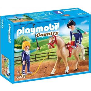 Playmobil Μάθημα Ακροβατικής Ιππασίας (6933) Α