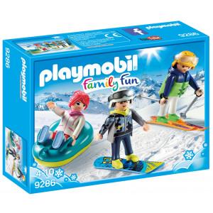 Playmobil Παρέα Χιονοδρόμων (9286) A