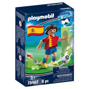 Playmobil Ποδοσφαιριστής Εθνικής Ισπανίας (70482) Α