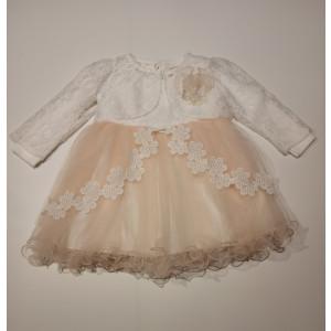 Φόρεμα Και Μπολερό Βρεφικό Σομόν 747.330.002