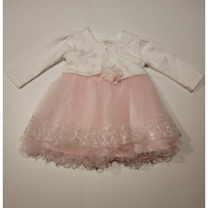 Φόρεμα Και Μπολερό Βρεφικό Ροζ 747.330.003